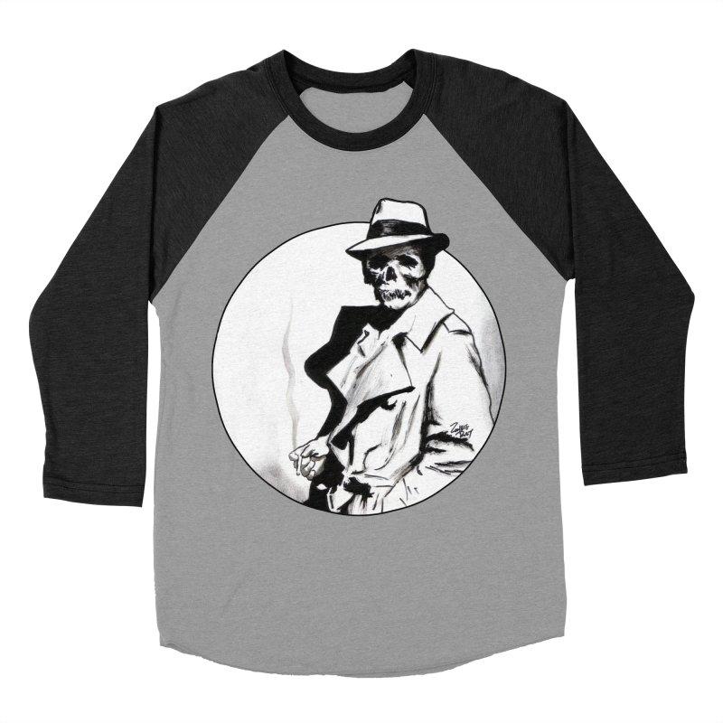Skeleton Expatriate Women's Baseball Triblend Longsleeve T-Shirt by Zombie Rust's Artist Shop