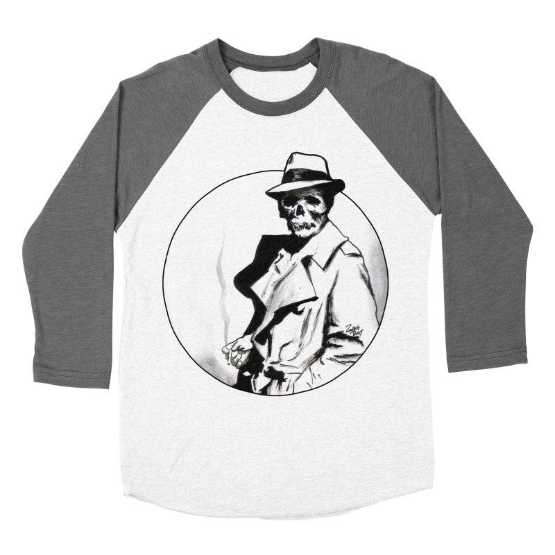 Skeleton Expatriate Men's Baseball Triblend Longsleeve T-Shirt by Zombie Rust's Artist Shop