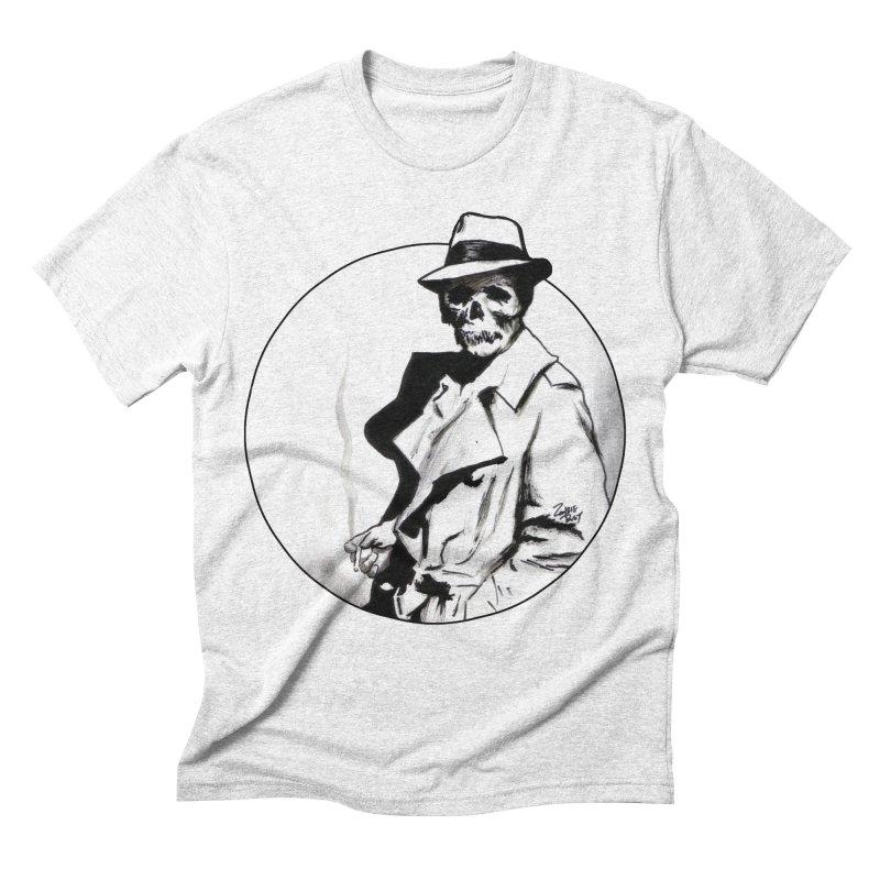 Skeleton Expatriate Men's Triblend T-shirt by Zombie Rust's Artist Shop