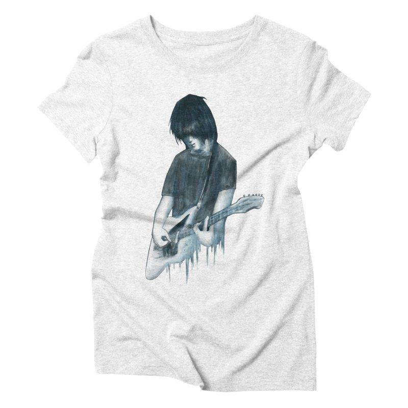 Celebrates Itself Women's Triblend T-shirt by Zombie Rust's Artist Shop
