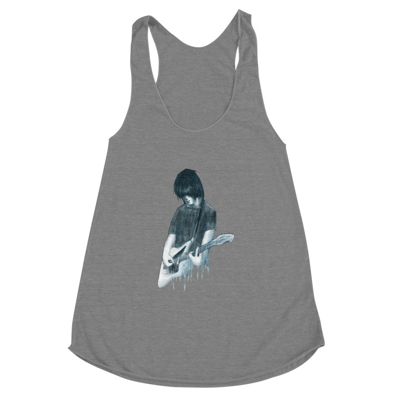 Celebrates Itself Women's Racerback Triblend Tank by Zombie Rust's Artist Shop