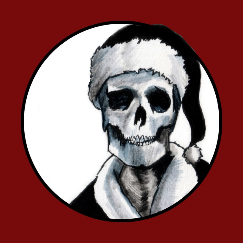 Blackest Ever Black Xmas Women's Tank by Zombie Rust's Artist Shop
