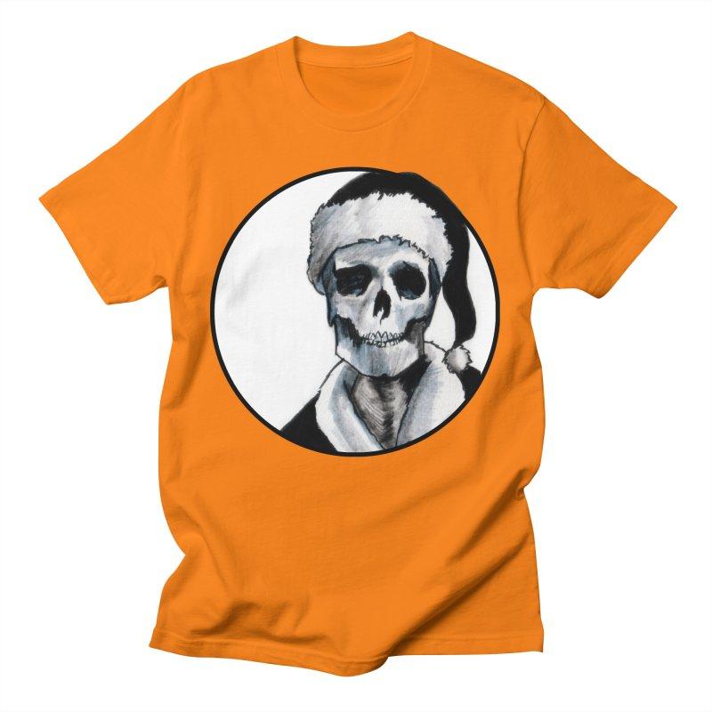 Blackest Ever Black Xmas Men's T-Shirt by Zombie Rust's Artist Shop