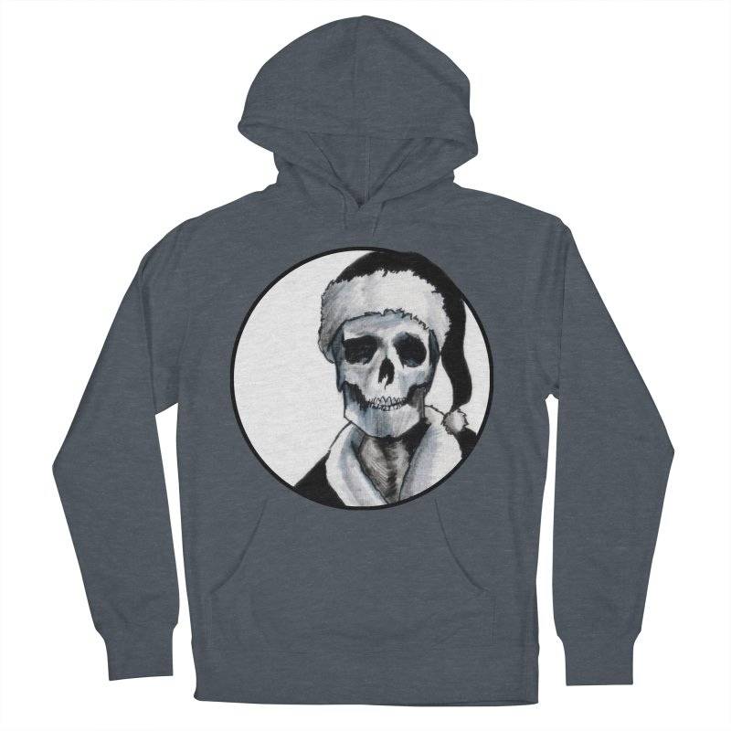 Blackest Ever Black Xmas Women's French Terry Pullover Hoody by Zombie Rust's Artist Shop