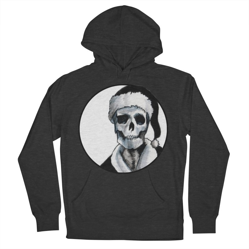 Blackest Ever Black Xmas Men's Pullover Hoody by Zombie Rust's Artist Shop