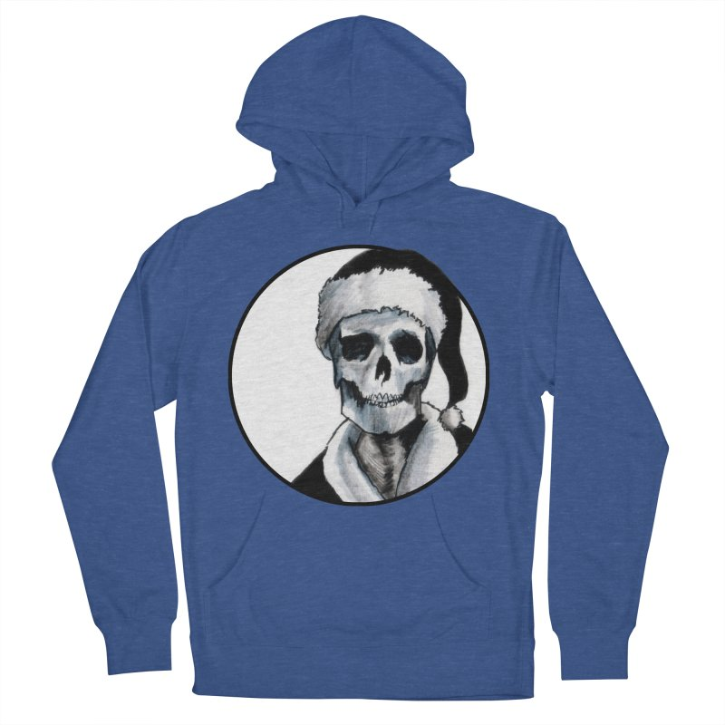 Blackest Ever Black Xmas Men's Pullover Hoody by Zombie Rust's Artist Shop