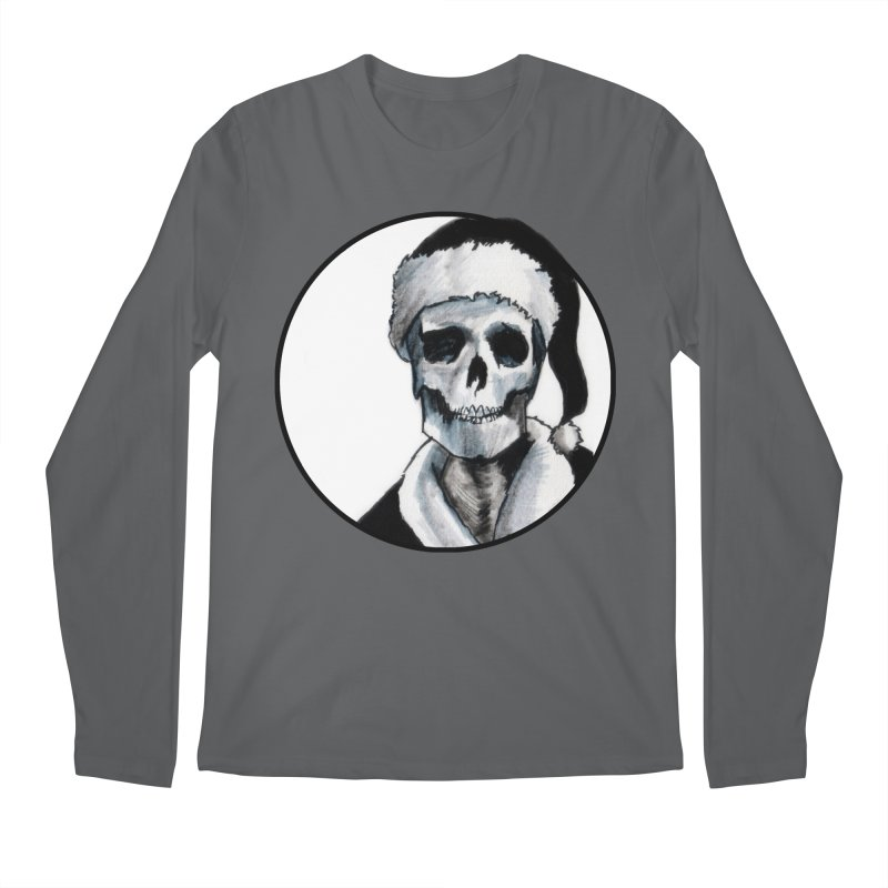 Blackest Ever Black Xmas Men's Regular Longsleeve T-Shirt by Zombie Rust's Artist Shop