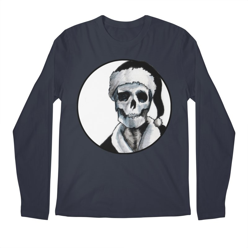 Blackest Ever Black Xmas Men's Longsleeve T-Shirt by Zombie Rust's Artist Shop