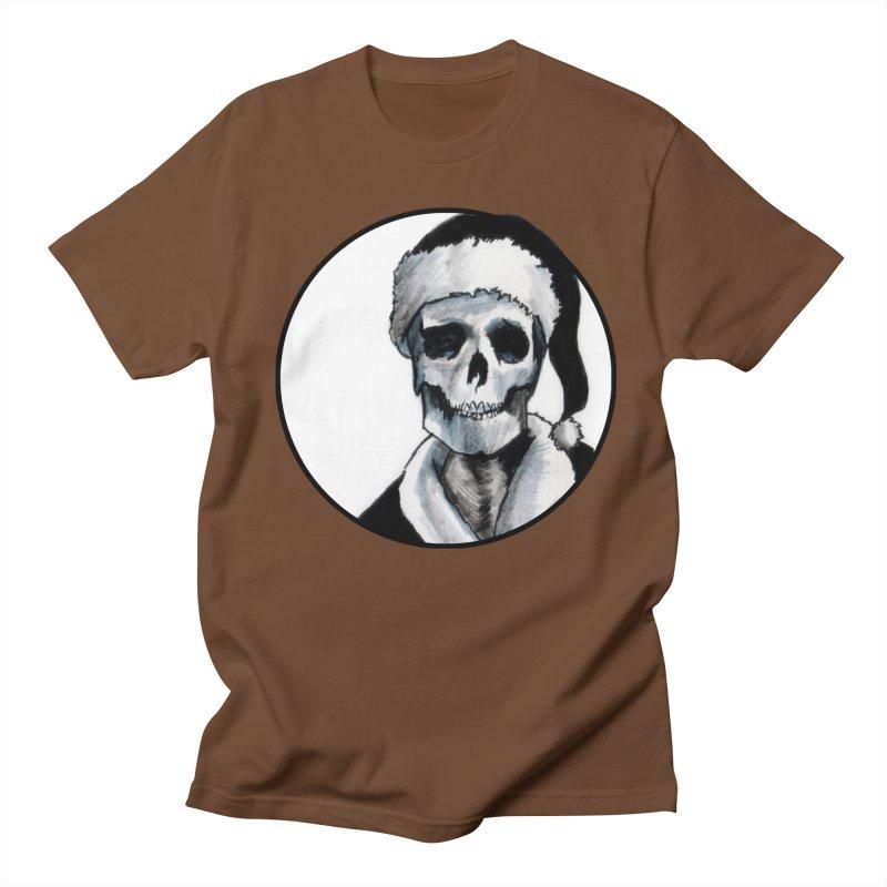 Blackest Ever Black Xmas Men's Regular T-Shirt by Zombie Rust's Artist Shop