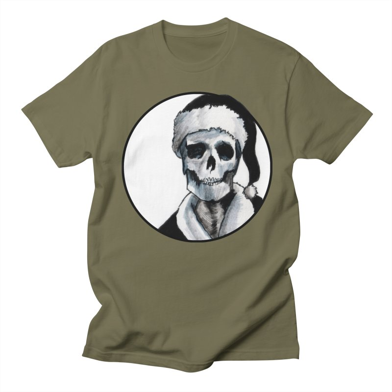 Blackest Ever Black Xmas Men's T-Shirt by Zombie Rust's Artist Shop