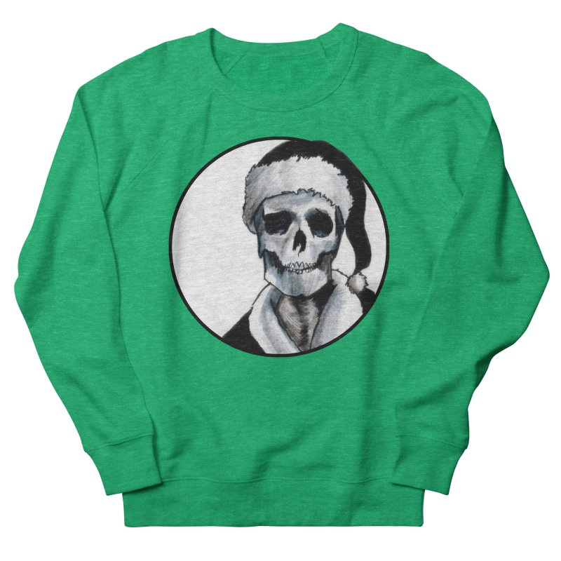Blackest Ever Black Xmas Women's Sweatshirt by Zombie Rust's Artist Shop