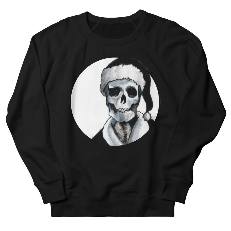 Blackest Ever Black Xmas Women's French Terry Sweatshirt by Zombie Rust's Artist Shop