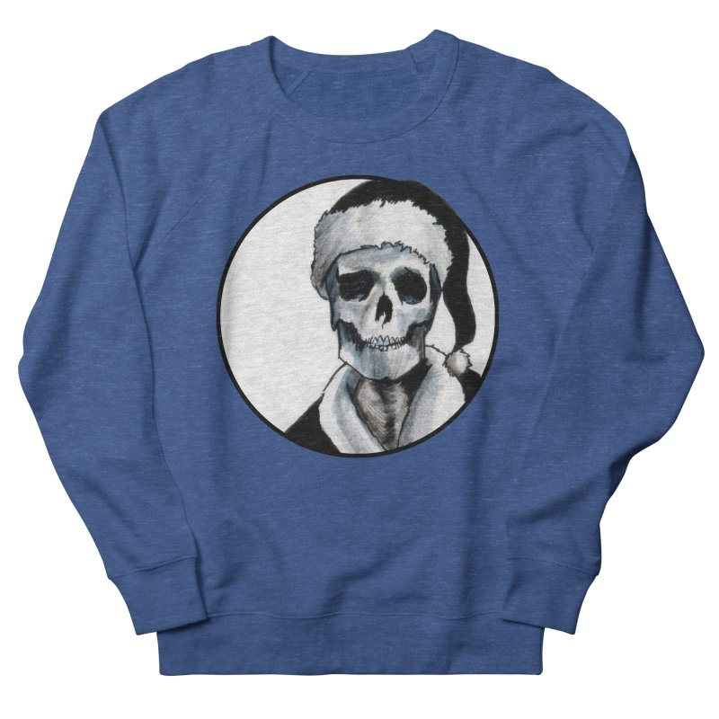Blackest Ever Black Xmas Men's Sweatshirt by Zombie Rust's Artist Shop