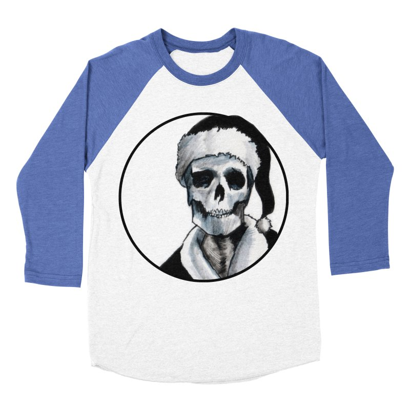 Blackest Ever Black Xmas Women's Baseball Triblend T-Shirt by Zombie Rust's Artist Shop