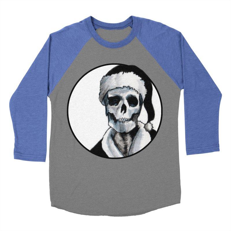 Blackest Ever Black Xmas Men's Baseball Triblend Longsleeve T-Shirt by Zombie Rust's Artist Shop