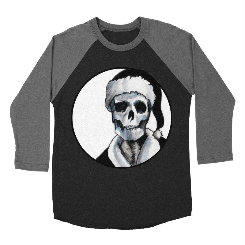 Blackest Ever Black Xmas Men's Baseball Triblend T-Shirt by Zombie Rust's Artist Shop