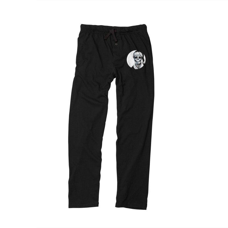 Blackest Ever Black Xmas Men's Lounge Pants by Zombie Rust's Artist Shop