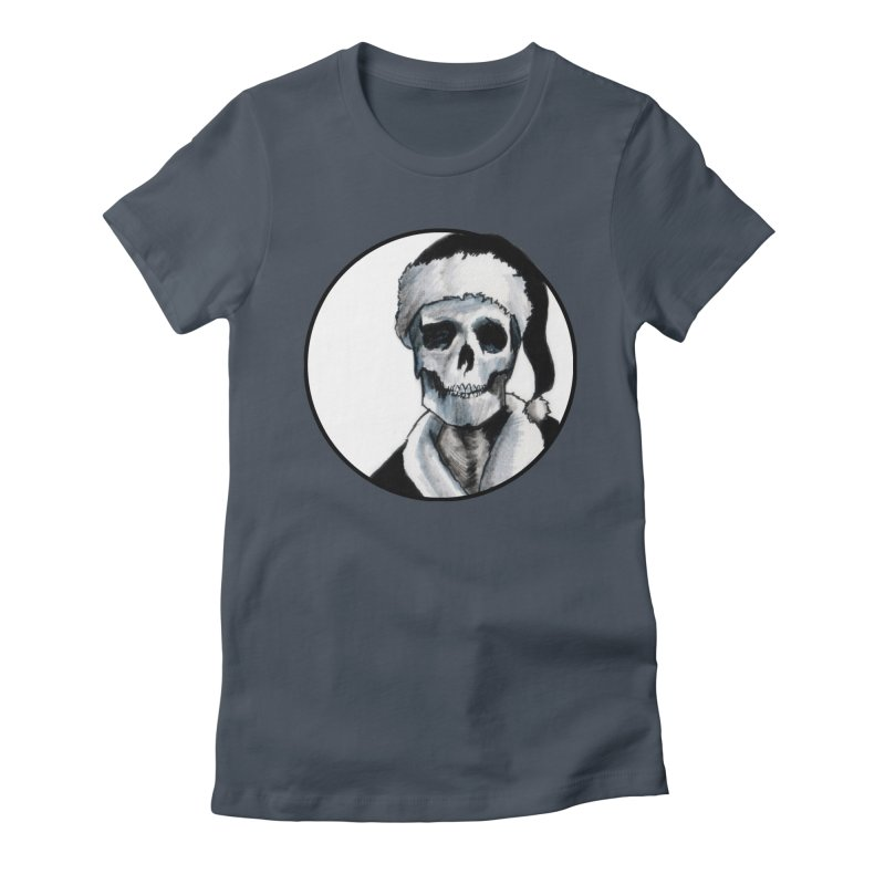 Blackest Ever Black Xmas Women's T-Shirt by Zombie Rust's Artist Shop