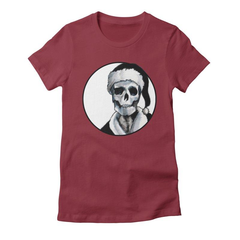 Blackest Ever Black Xmas Women's T-Shirt by Zombie Rust's Artist Shop