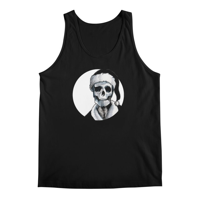 Blackest Ever Black Xmas Men's Tank by Zombie Rust's Artist Shop