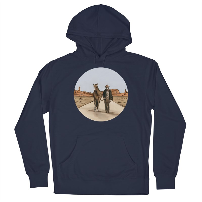 Death Americana Men's Pullover Hoody by Zombie Rust's Artist Shop
