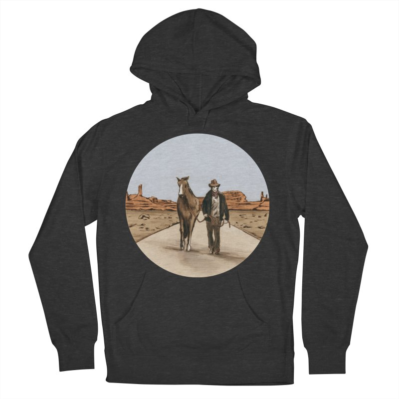 Death Americana Women's French Terry Pullover Hoody by Zombie Rust's Artist Shop