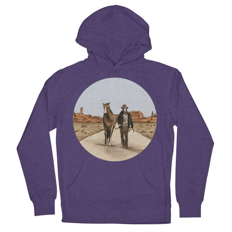 Death Americana Women's Pullover Hoody by Zombie Rust's Artist Shop