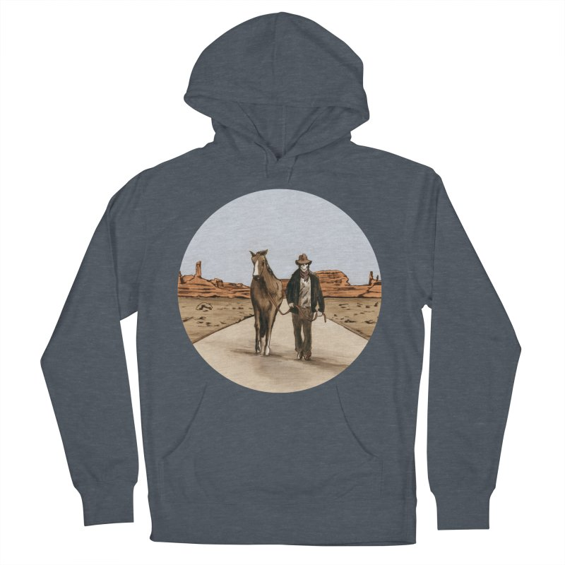 Death Americana Men's Pullover Hoody by Zombie Rust's Artist Shop