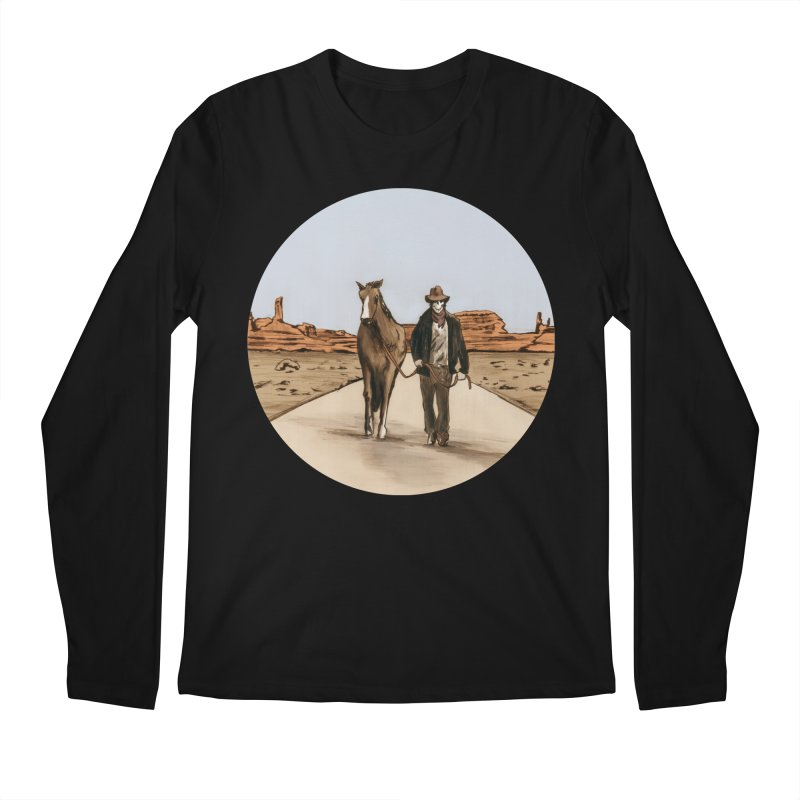 Death Americana Men's Longsleeve T-Shirt by Zombie Rust's Artist Shop