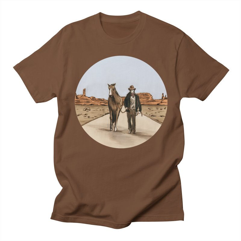 Death Americana Men's Regular T-Shirt by Zombie Rust's Artist Shop