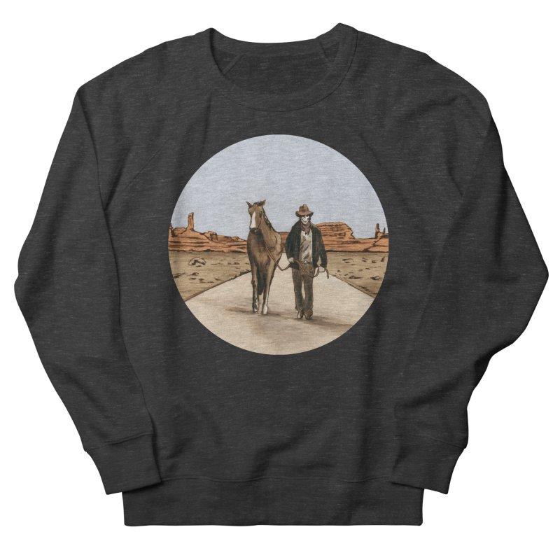 Death Americana Women's French Terry Sweatshirt by Zombie Rust's Artist Shop