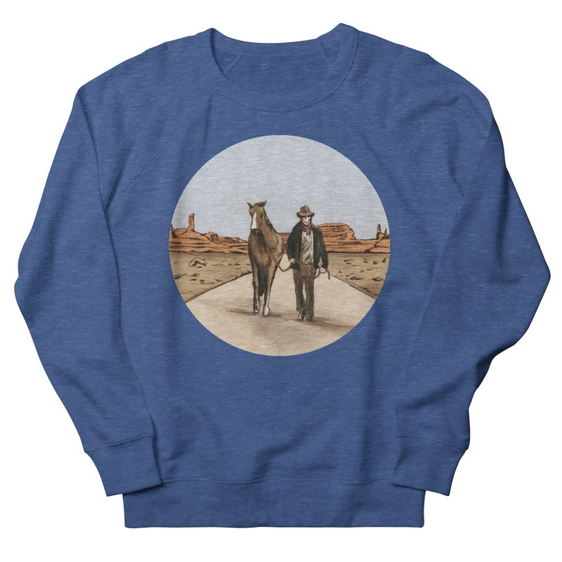 Death Americana Women's French Terry Sweatshirt by Zombie Rust's Artist Shop