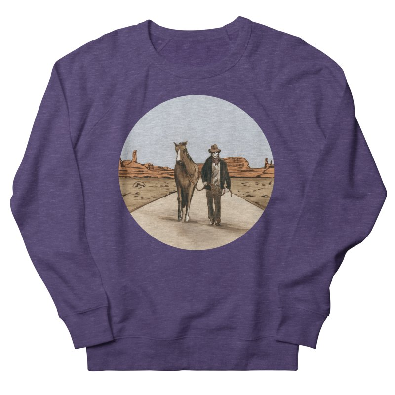 Death Americana Women's Sweatshirt by Zombie Rust's Artist Shop