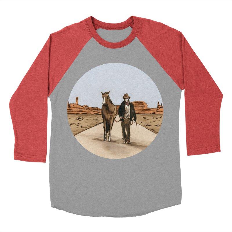 Death Americana Women's Baseball Triblend T-Shirt by Zombie Rust's Artist Shop