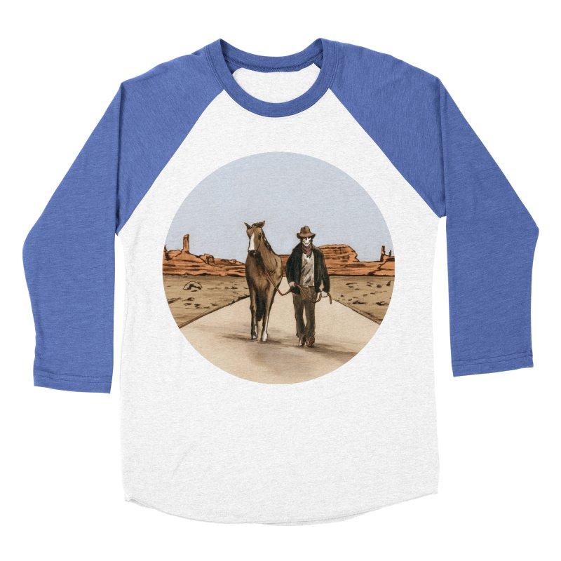 Death Americana Men's Baseball Triblend T-Shirt by Zombie Rust's Artist Shop