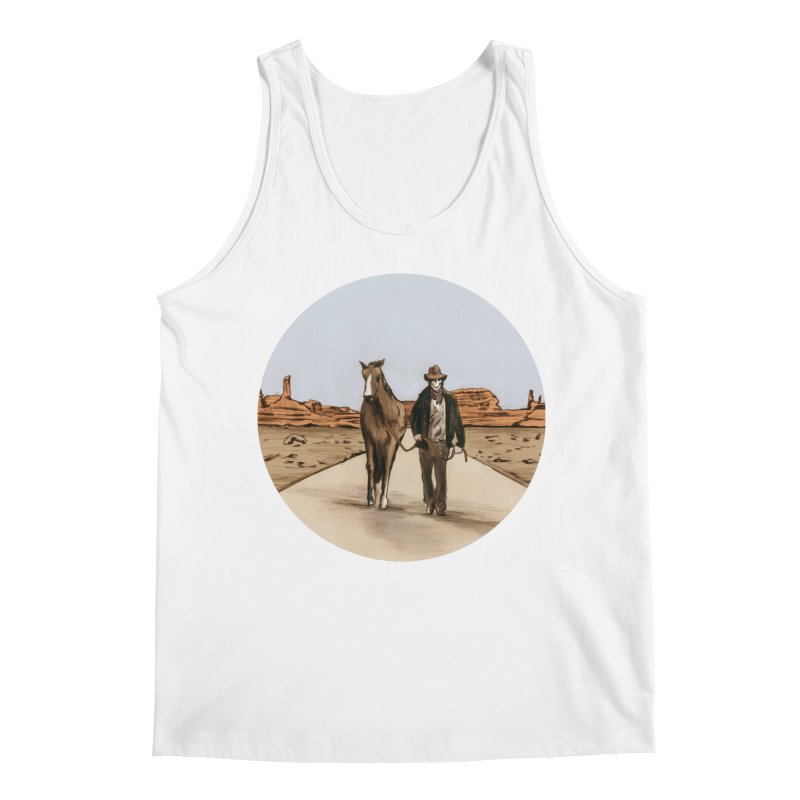 Death Americana Men's Tank by Zombie Rust's Artist Shop