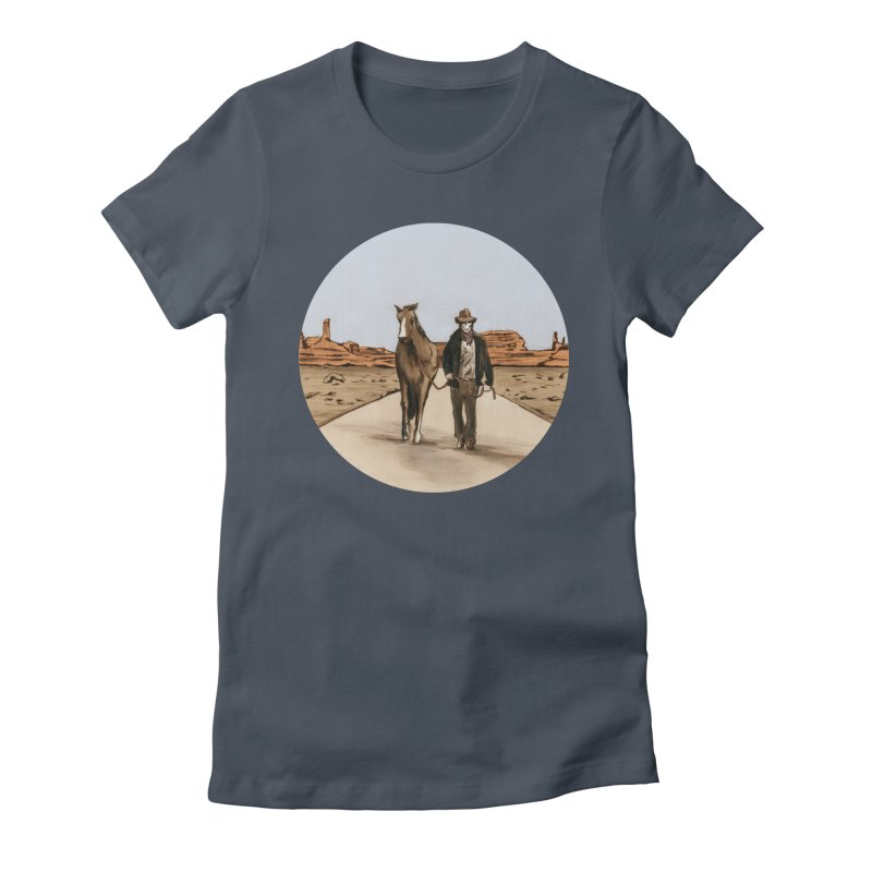 Death Americana Women's T-Shirt by Zombie Rust's Artist Shop