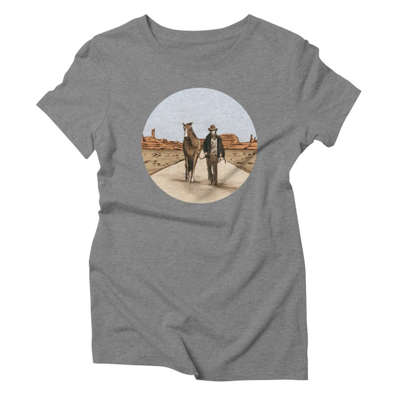 Death Americana Women's Triblend T-shirt by Zombie Rust's Artist Shop