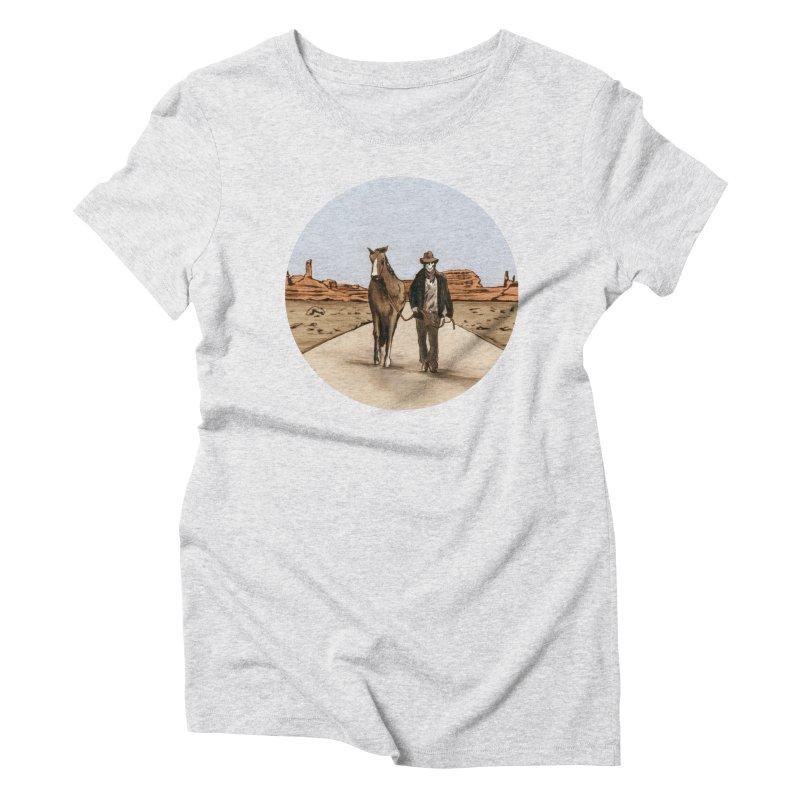 Death Americana Women's T-Shirt by Zombie Rust's Artist Shop