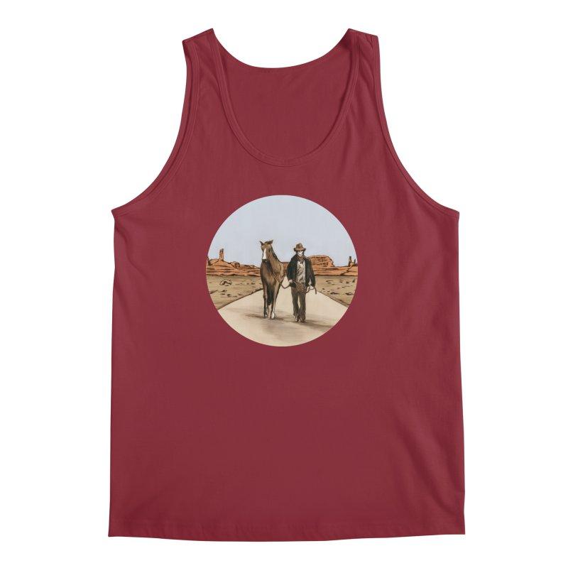 Death Americana Men's Regular Tank by Zombie Rust's Artist Shop