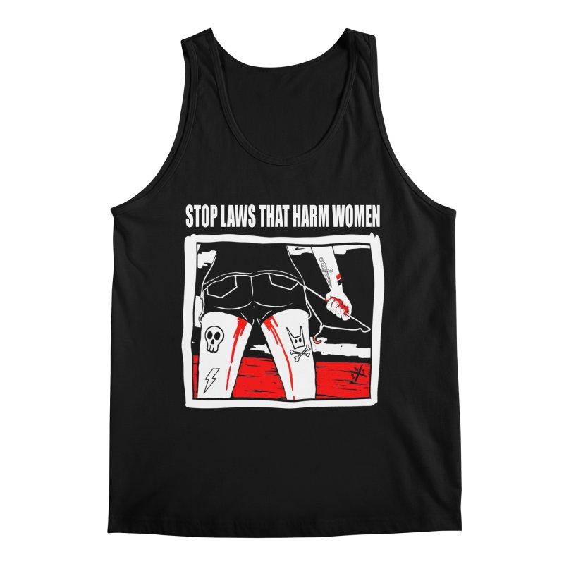 Stop laws that harm women Men's Regular Tank by ZOMBIETEETH