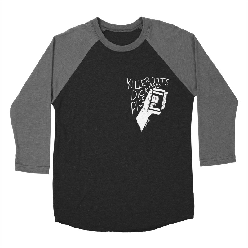 Killer tits and dick pics Women's Baseball Triblend Longsleeve T-Shirt by ZOMBIETEETH