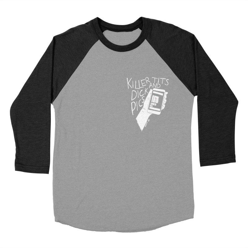 Killer tits and dick pics Women's Baseball Triblend Longsleeve T-Shirt by ZOMBIETEETH