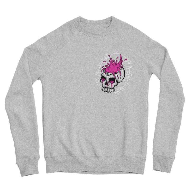 Ask me about my mental health Women's Sponge Fleece Sweatshirt by ZOMBIETEETH