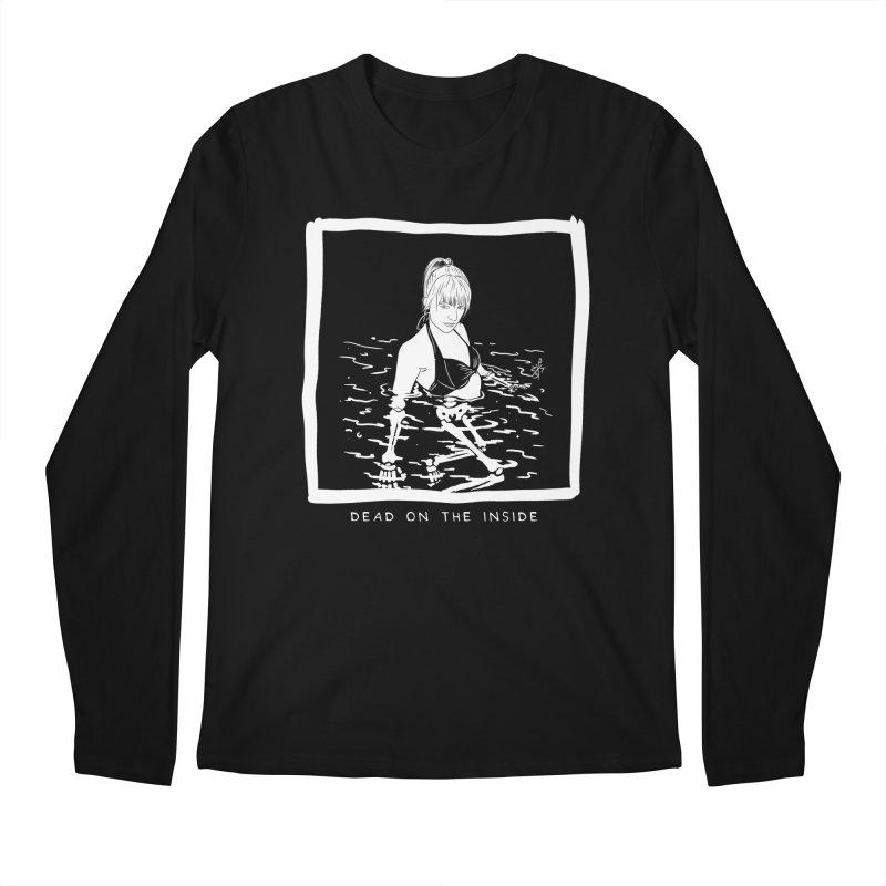 Dead on the inside Men's Regular Longsleeve T-Shirt by ZOMBIETEETH