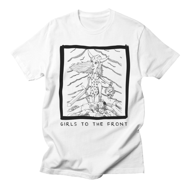 Girls to the front Men's T-Shirt by ZOMBIETEETH