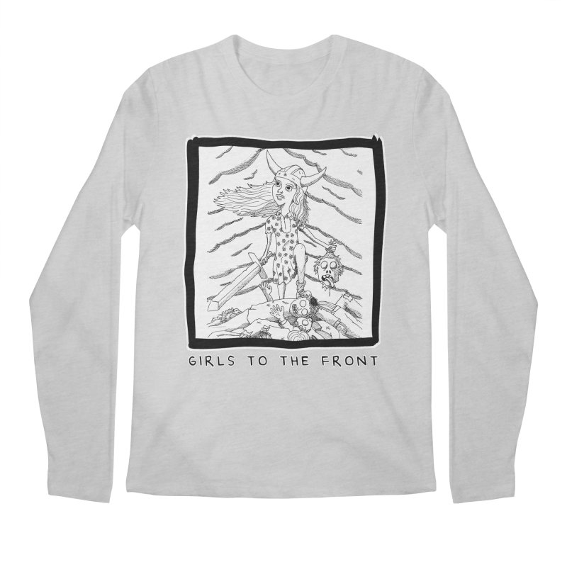Girls to the front Men's Regular Longsleeve T-Shirt by ZOMBIETEETH