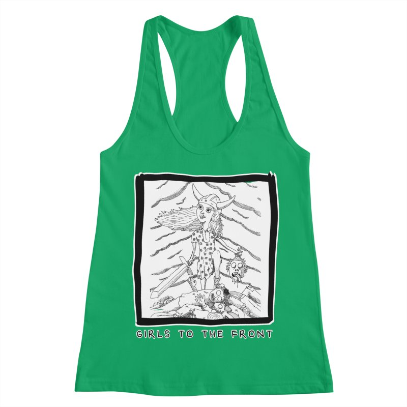Girls to the front Women's Tank by ZOMBIETEETH