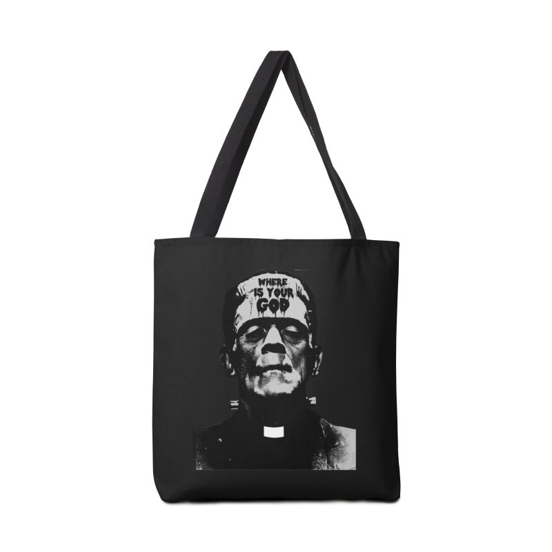 Where is your God Accessories Bag by ZOMBIETEETH