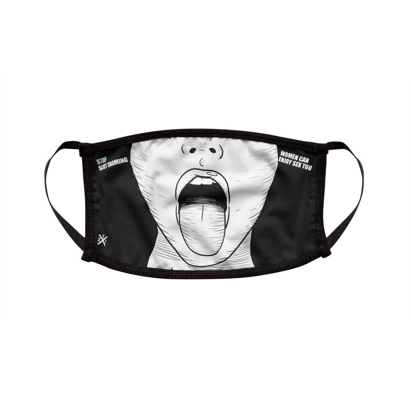 Stop shaming Accessories Face Mask by ZOMBIETEETH